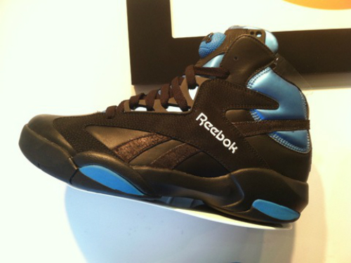 Reebok Shaq Attaq - Black/Blue 2013