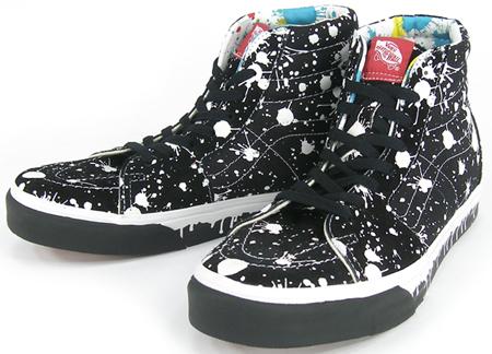 Vans Sk8-Hi Paint Drip | SneakerFiles