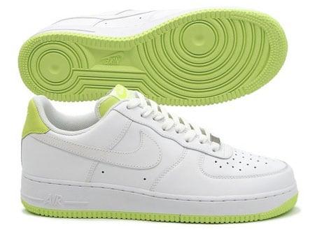 hot sale online 3ec3b 35564 Nike Air Force 1 White Volt on sale