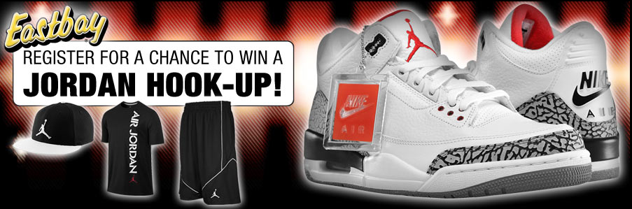 Win an Air Jordan Hook-up Sweepstakes by Eastbay