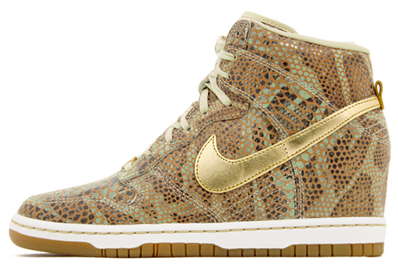 Womens Nike Dunk Sky High - Year of the Snake QS