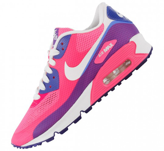 Womens Nike Air Max 90 Hyperfuses - Two New Color Schemes