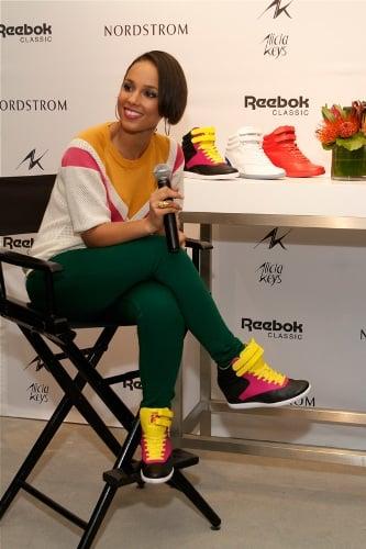 Reebok Classic X Alicia Keys Spring/Summer 2013 collection