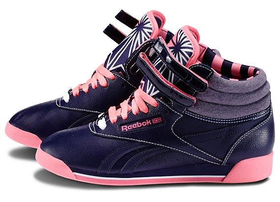 roshe run ou free run - Womens Reebok Freestyle Hi R12 | SneakerFiles