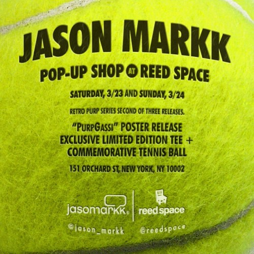 Jason Markk Pop Up Shop Reed Space NYC