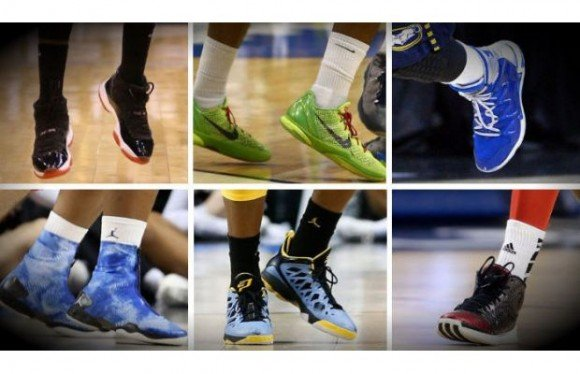 March Sneaker Madness NCAA Tournament Sneaker Watch