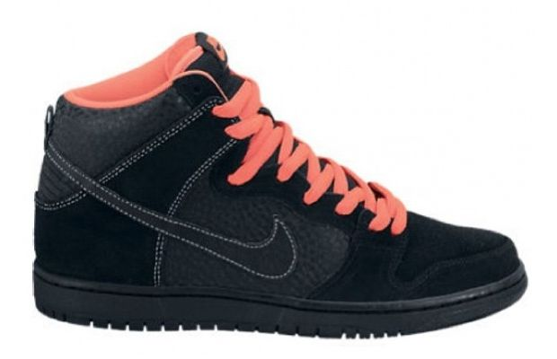 Nike SB Dunk High Black Infrared