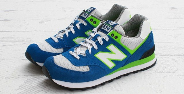 Seahawks Ready New Balance 574