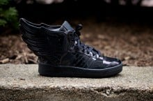 adidas Originals by Jeremy Scott JS Wings 'Metallic Black' | Now Available