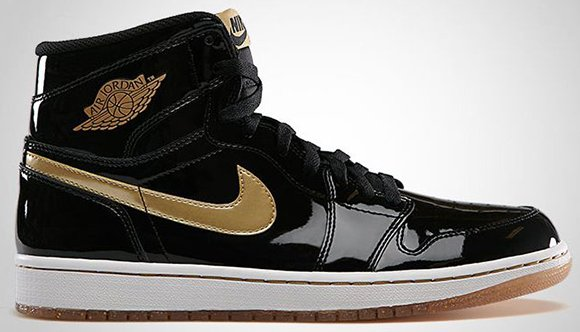 Air Jordan 1 Gold Black Official Photos