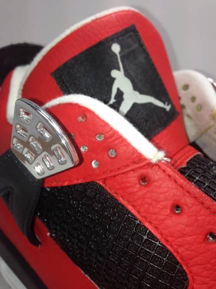 Air Jordan 4 Matador Custom