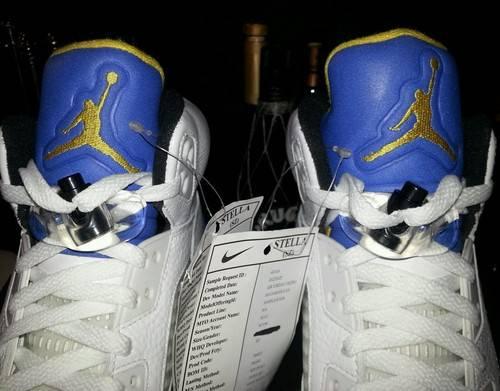 Air Jordan 5 Laney 2013 Sample
