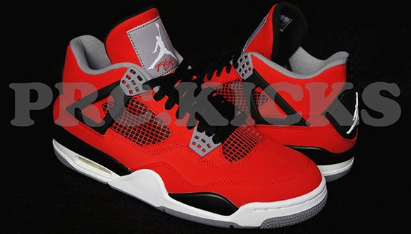 d6d174420b15 Air Jordan 4 (IV) Suede Fire Red 2013 Retro
