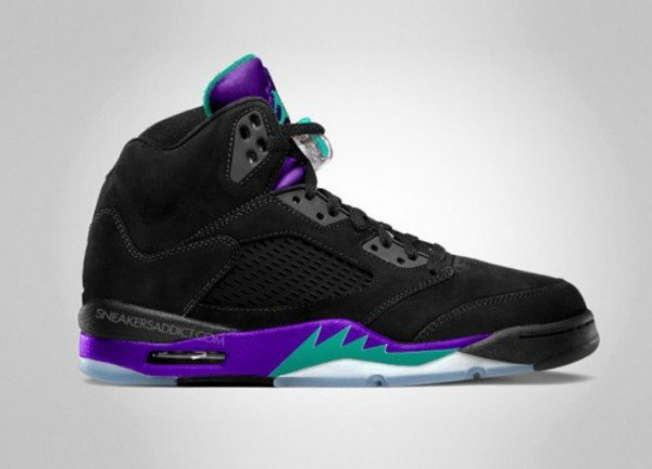 Air Jordan Retro V (5) 'Aqua' - Holiday Release