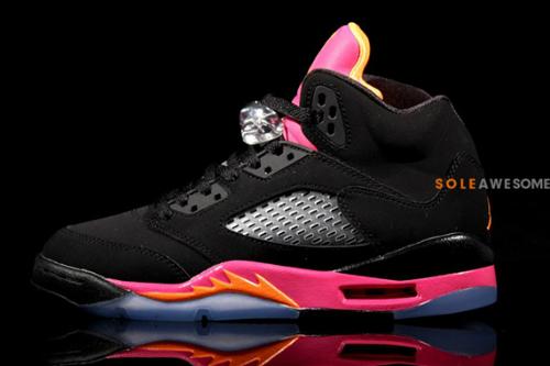 air-jordan-v-5-gs-black-bright-citrus-fusion-pink-new-images-4