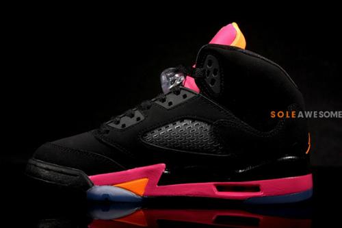 air-jordan-v-5-gs-black-bright-citrus-fusion-pink-new-images-5