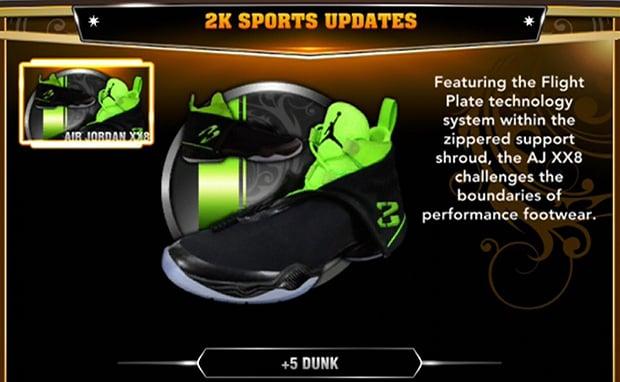 Air Jordan XX8 Now Available in NBA 2K13