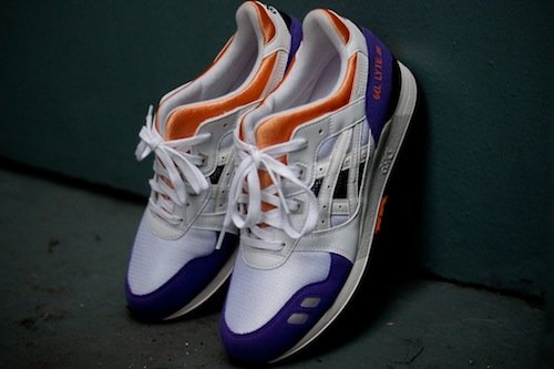 c096d15b1852 Asics Gel Lyte III OG  White Purple