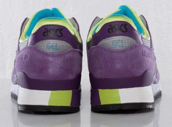 Asics Gel Lyte III Purple Blue Citron