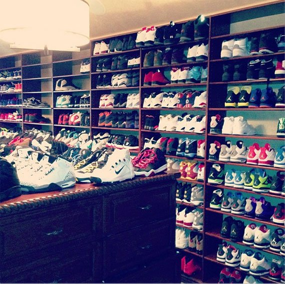 Chris Pauls Sneaker Room