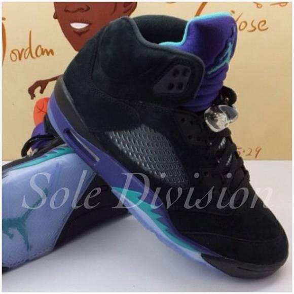 First Look: Air Jordan 5 Black Grape