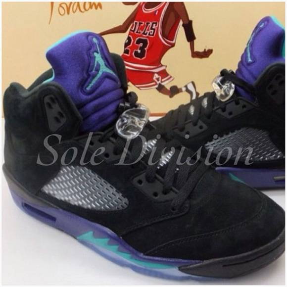 First Look: Air Jordan 5 Black Grape