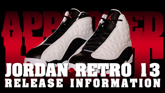 Foot Locker Release Info: Air Jordan Retro XIII (13) He Got Game