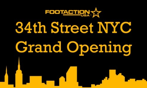 Footaction Grand Opening in NYC (34th Street)