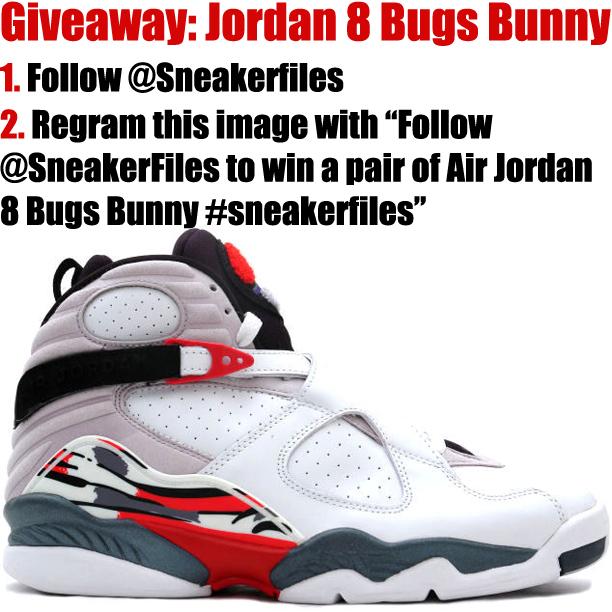 Giveaway: Air Jordan 8 Bugs Bunny 2013