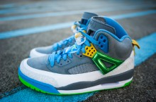Jordan Spiz'ike 'Stealth/Poison Green-University Blue-Blitz Blue-Vivid Sulpher' | Another Look