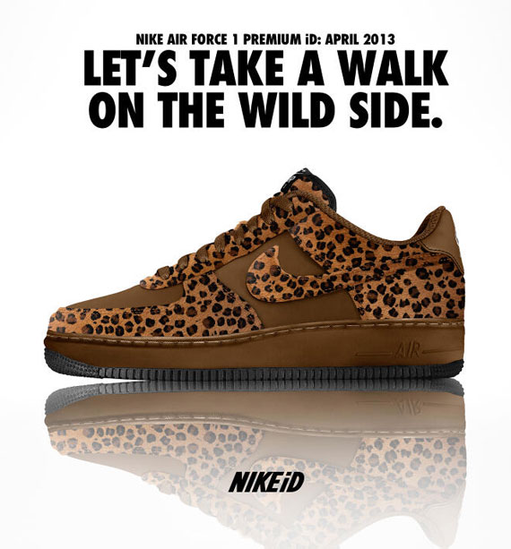 Nike Air Force 1 iD Cheetah Options