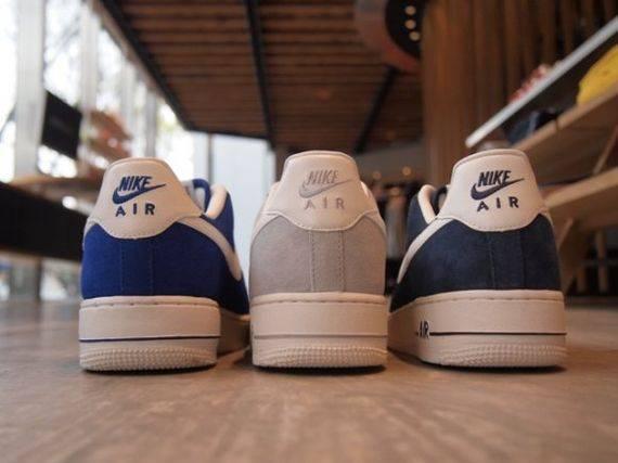 Nike Air Force 1 Suede Pack