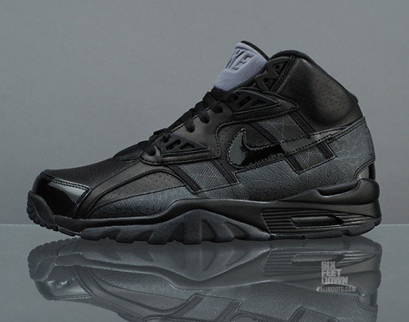 327841b8739632 Nike Air Trainer SC High Premium  Blackout