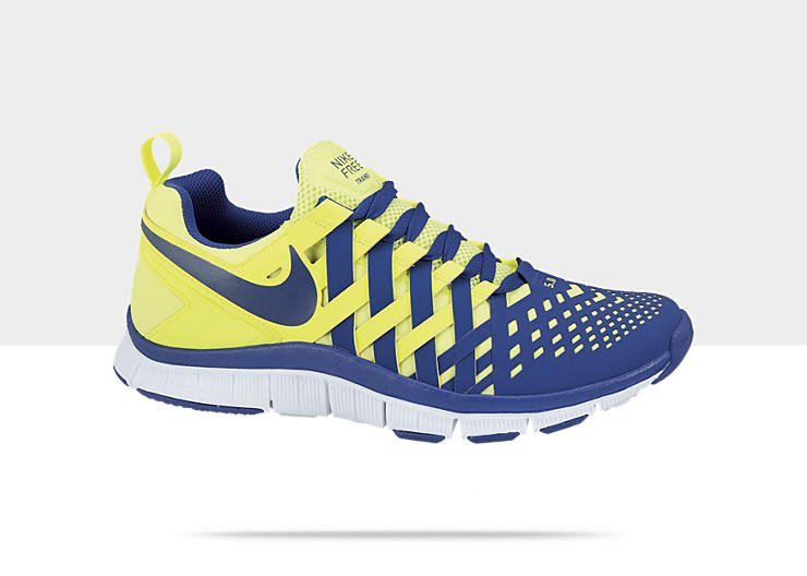 brand new ec73b 729e0 Nike Free Trainer 5.0 'Volt/Hyper Blue-White' | Now ...