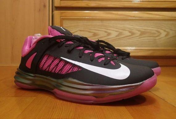 2015 New Nike Hyperdunk 2012 Low 2013 Lunar Kay Yow Pink Black W