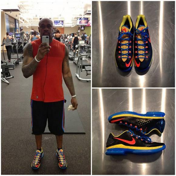 Nike KD V 5 Elite OKC Away  New Images