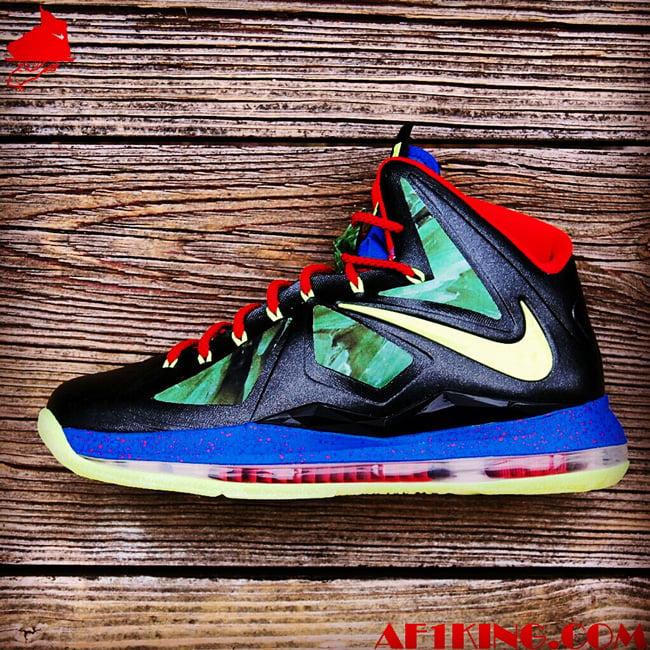 Nike LeBron X (10) 'Man of Steel' by GourmetKickz ...