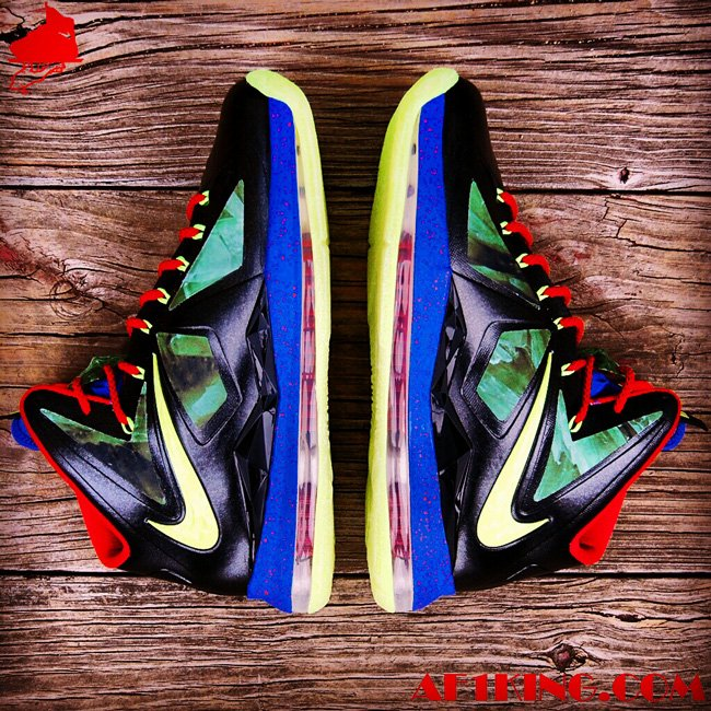 Nike LeBron X (10) 'Man of Steel' by Gourmetkickz