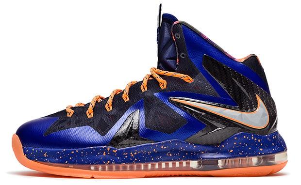 : Nike Lebron X Elite Pure Platinum Black