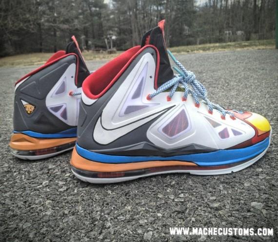 Nike LeBron X Stewie Customs by Mache