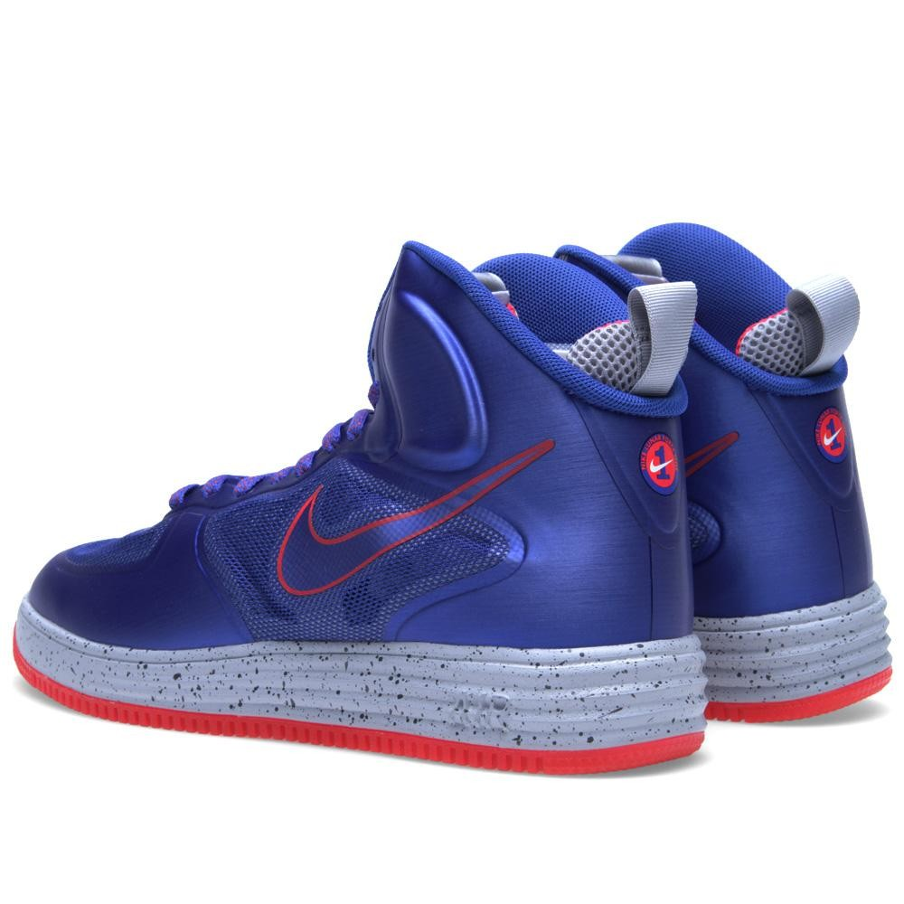 Nike Lunar Force 1 Fuse High  Game Royal Wolf Grey-Siren Red   f3e7d306df