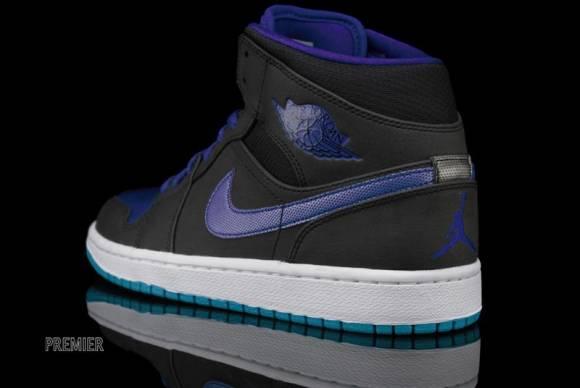 Now Available Air Jordan 1 Mid Black Grape