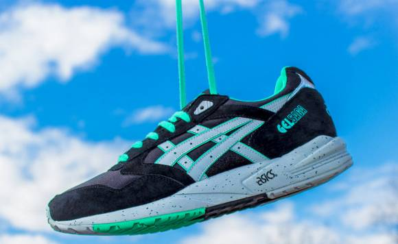Now Available Asics Gel Saga Black Mint