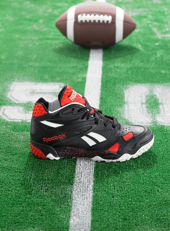 Now Available Black Red White Reebok Scrimmage Mid