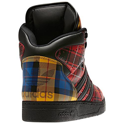 Now Available Jeremy Scott X adidas Instinct Hi Tartan