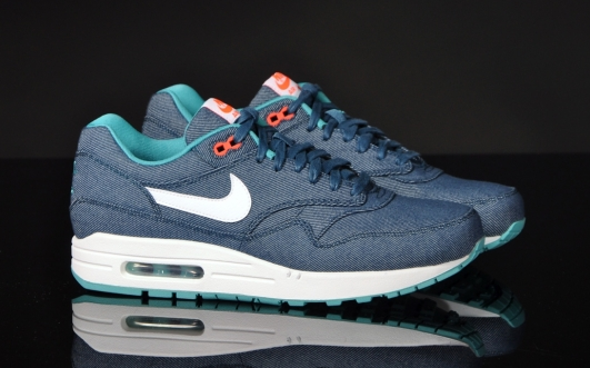 Now Available Nike Air Max 1 Denim Turquoise