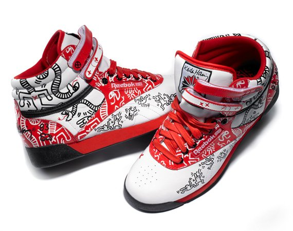 Reebok Classic x Keith Haring Foundation Footwear Collection Drop 2