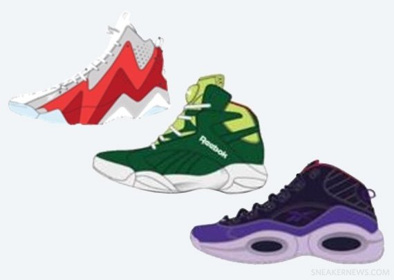 Reebok Classics Ghosts of Christmas Pack Holiday 2013