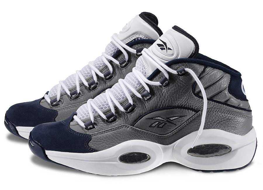 Reebok Question Mid 'Georgetown' | Official Images | SneakerFiles