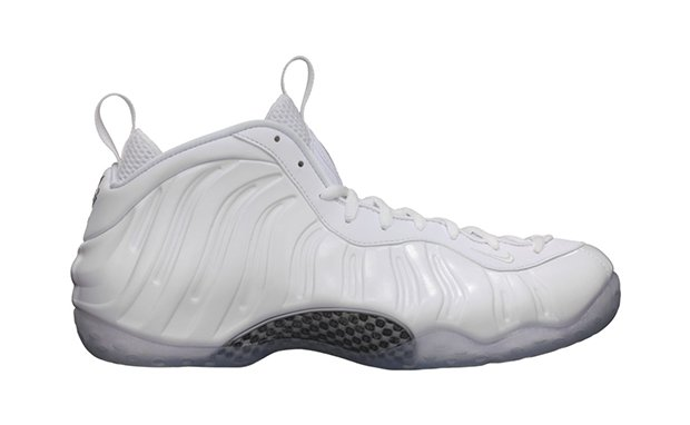 pretty nice ddeb3 4a839 Release Reminder Nike Air Foamposite One White Metallic ...